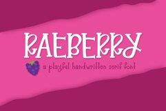 Raeberry Serif Product Image 1