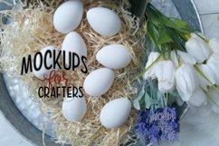 Easter Eggs - White - WalMart - Dollarama MOCK-UP Product Image 1