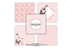 Pink dreams Baby Girl Paper Pack Fashion Illustration Product Image 2