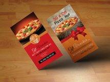 Vertical Pizza Restuarant Gift Vouchers Product Image 1