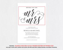 Rehearsal Dinner Invitation, TOS_41 Product Image 4