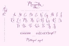 Monggirella script font with flourishes Product Image 2
