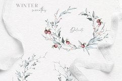 Winter Watercolors & Alphabets Product Image 3
