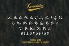 Komentator Vintage Font Product Image 4