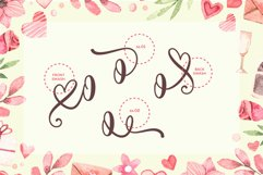 thanks darling - a cute & sweety font Product Image 4