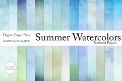 Summer Watercolor Paper Pack Product Image 1