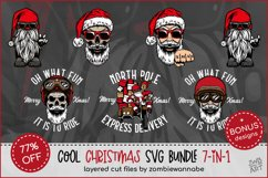 Cool Christmas Bundle for Crafters - Bikers, Gnomes & Skulls Product Image 1
