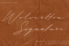 Wolvertton Signature Product Image 1