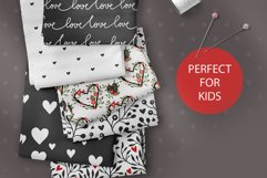 Valentines Day Seamless Pattern Set. Product Image 2