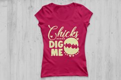 Chicks Dig Me Svg, Easter Svg, Easter Chicks Svg, Easter Egg Product Image 2