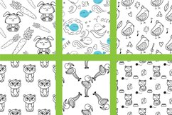 Worksheet animals and coloring book Product Image 3