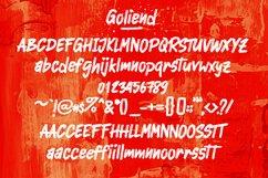 Goliend || spooky font Product Image 3