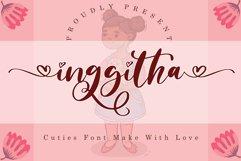 Inggitha // Wedding Font - WEB FONT Product Image 1