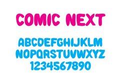 Comic Next Font Product Image 2
