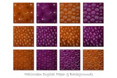 Halloween Digital Paper - Halloween Background Patterns Product Image 2