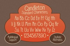 Candleton - Display Font Product Image 3