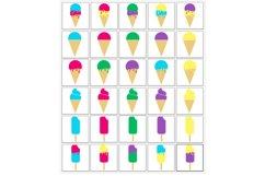 Ice Cream SVG Bundle - Ice Cream Cone & Popsicle Clipart Product Image 2