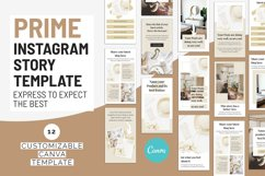 Prime Canva Instagram Story Template Product Image 2