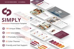 Simply multipurpose PowerPoint Presentation Template Product Image 1