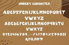 Unlucky - Display Bold Font Product Image 5