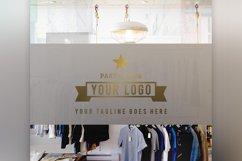 Store Front Vinyl Logo Mockup  Product Image 3