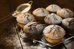 Muffins on metal stand Product Image 1