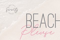 Serenity - Lovely Script Product Image 8