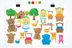 Goldilocks graphics and illustrations Product Image 2