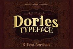 Dories - Display Font Product Image 1