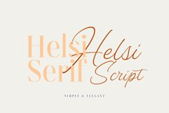 Helsi Font Duo Product Image 2