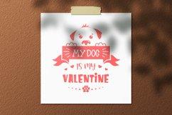 Valentine dog svg, dog lover quote svg, dog valentines svg Product Image 4
