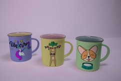 Mugs Mockups. 3 PSD files with smart objects. Product Image 6