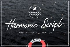 Harmonic Script With Summer Illustration Package Bundle Product Image 1