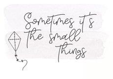 Tuesday - Handwritten Script Font Product Image 5