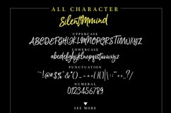 Silentmind Typeface Product Image 4