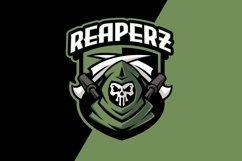 Reaper Military Sport Mascot Logo Template Product Image 1
