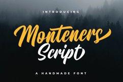 Monteners Script Product Image 1