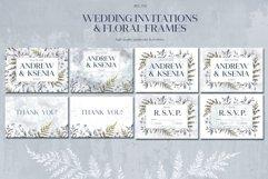 Floral wedding cards set Product Image 4