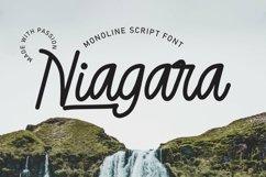 Web Font Niagara - Monoline Script Font Product Image 1