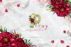 Peony inspiration - watercolor set Product Image 1
