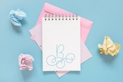 Hairline Monogram Font - Bold Version Included Product Image 8