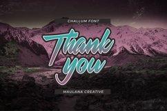 Challum Handwritten Script Font Product Image 4