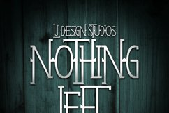 Nothing Left Product Image 3