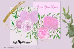 Happy Mother's Day Card, Mother Day gift card, Love you mom Product Image 4