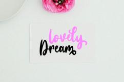 Web Font Sassy Girly - Script Font Product Image 4