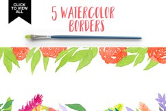 Watercolor Autumn Leaves Product Image 3