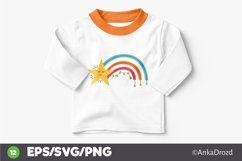 Set Colorful Rainbow clipart png, svg. Happy Baby Rainbow Product Image 4