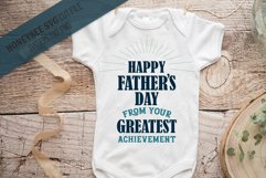 Happy Father's Day SVG Cut File Product Image 1