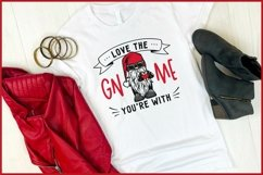 Love The GNOME You're With Valentine Gnomes SVG, Biker Gnome Product Image 3