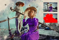 Hand Painting Photoshop Action Product Image 4